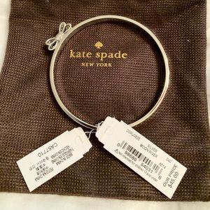 Kate Spade silver Moon River Bangle